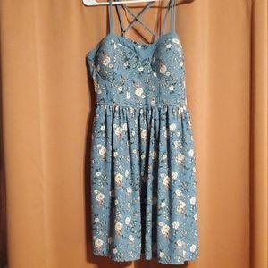 Plus Size Floral Summer Dress